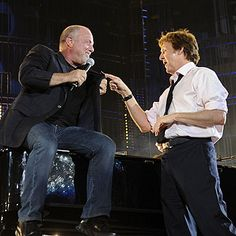 Paul McCartney & Billy Joel...piano men...