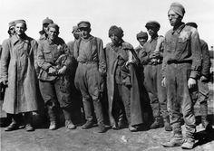 Russian POWs in Minsk, 1941.