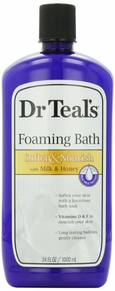 Dr. Teal's Foaming Milk Bath with Milk and Honey - just bought this and it did wonders for my dry, winter skin