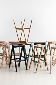 Bouroullec bar stool