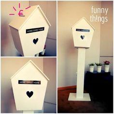 Caixa de correio para mensagens aos noivos