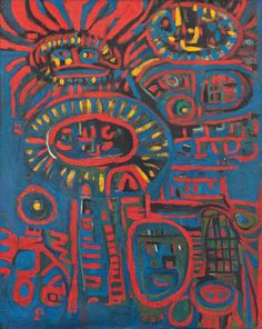 Fahrelnissa Zeid'in 23 Resmi ve Hayatı Best Image Ever, Abstract Expressionism, Abstract Art, Turkish Art, Cartoon Art, Love Art, All The Colors, Surrealism, Contemporary Art