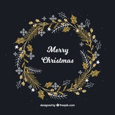 Discover thousands of copyright-free vectors. Graphic resources for personal and commercial use. Thousands of new files uploaded daily. Watercolor Christmas Cards, Christmas Card Crafts, Christmas Drawing, Christmas Images, Christmas Design, Xmas Cards, Christmas Projects, All Things Christmas, Handmade Christmas
