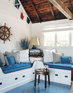 Summer ideas: Marine Interior Style