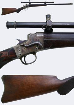 Griffin & Howe Rifle Details Page  A Remington-Hepburn S/S rifle chambered in .38-40. Very fine piece. (Saw two of these at the Dallas Safari Club Expo just yesterday!)