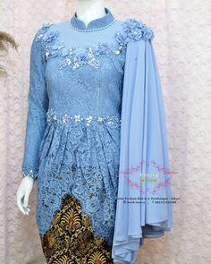 Kebaya Modern Hijab, Kebaya Muslim, Muslim Dress, Batik Kebaya, Kebaya Dress, Batik Dress, Model Kebaya Baru, Indonesian Kebaya, Asian Bridal Dresses