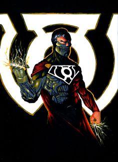 Sinestro Corps Cyborg Superman by Bihumi on DeviantArt Marvel Dc, Marvel Comics, Superman And Superwoman, Dc Comics Art, Man Of Steel, Dc Heroes, Comic Art, Comic Book, Dc Universe