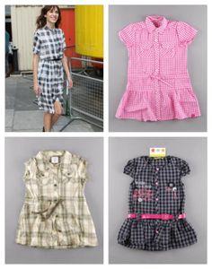 Vestidos camiseros para niñas http://quiquilo.wordpress.com/2013/07/25/vestir-como-mama-vestidos-camiseros-para-ninas/
