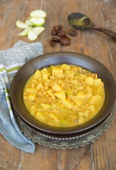 Apple & White Bean Curry