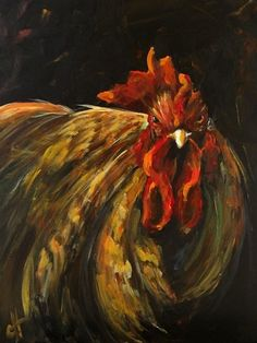 King+Rooster+print+of+an+Original+Painting...... $24.00