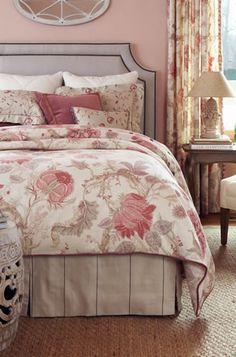 Florabunda Fabric Collection. Image: calicocorners.com. #bedrooms #pink