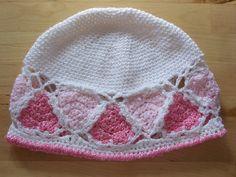 Hearts Go Round Hat pattern by Melanie Blake