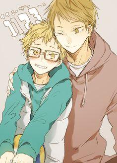 Tsukishima Brothers
