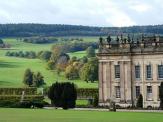 Chatsworth House - a beautiful Derbyshire Stately Home with amazing gardens; inside is so beautiful and there are lovely places to sit and take it all in!