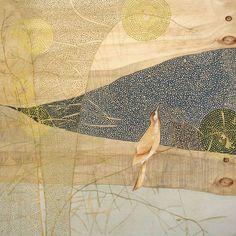 'Greeting the Morning' print by Dana Kinter. Floral Illustrations, Illustration Art, Watercolor Paintings, Original Paintings, Watercolour, Bird Artwork, Australian Artists, Bird Prints, Art Boards