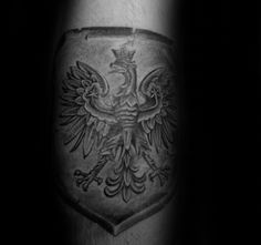 Soar with national pride and an omen of good fortune with the top 60 best Polish Eagle tattoo designs for men. Explore cool flag and coat of arms ink ideas. Tattoos Arm Mann, Eagle Tattoos, Line Tattoos, Arm Tattoos For Guys, Diy Tattoo, Tattoo Ink, Tattoo Ideas, Japanese Sleeve Tattoos, Full Sleeve Tattoos