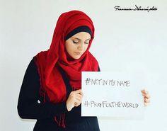 """""""Pas en mon nom"""" : le message fort exprimé par les musulmans du monde entier - http://kulturebuzz.fr/actu/nom-message-fort-exprime-musulmans-monde-entier-1378"""
