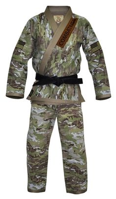 Fuji Combatives BJJ Gi - Multi-Camo