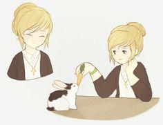 balaraika: *draws kate marsh happy* Unbelievabel ,i have to do everything my self