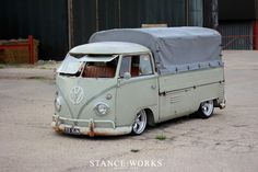 Type II plit window VW truck