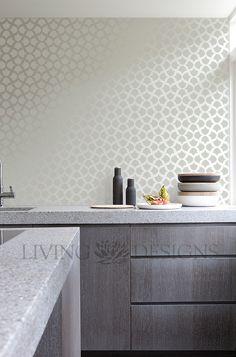 quieres tus paredes con papel tapiz o vinilos pero a un costo mucho menor pnta y decora al mismo tiempo con plantilla decorativa de gran formatou