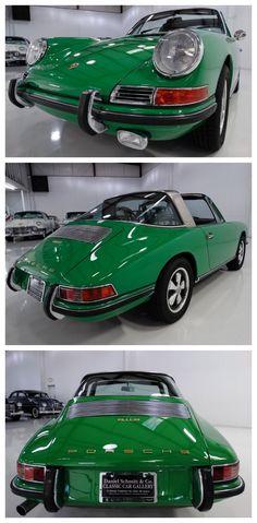 Rare 1968 PORSCHE 911S TARGA #TurboTuesday