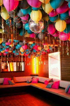 Party decorations disco fun ideas for 2019 - Disco party - Party 21st Birthday, 40th Birthday Party Themes, Disco Birthday Party, Sleepover Birthday Parties, Birthday Party Decorations Diy, Birthday Treats, Birthday Celebrations, Birthday Gifts, Party Planning