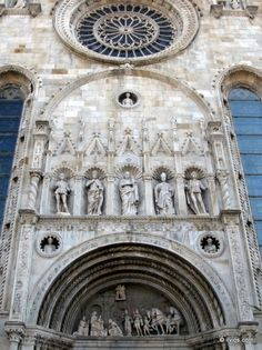 All saints (Como, Italy) Como Italy, Southern Europe, Stairway To Heaven, All Saints, Siena, Stairways, Towers, Architecture Details, Prague