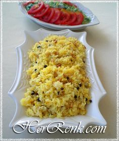 Italian Chicken Dishes, Turkish Recipes, Ethnic Recipes, Orange Recipes, Middle Eastern Recipes, Rice Dishes, Iftar, Risotto, Macaroni And Cheese