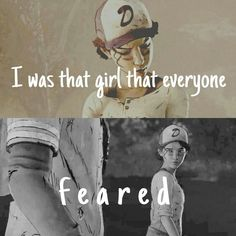 No one fears me Clem. The Walking Dead Ps3, The Walking Dead Telltale, Walking Dead Series, Walking Dead Drawings, Clementine Walking Dead, Beyond Two Souls, Twd Memes, Left 4 Dead, Shall We Date