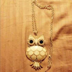 Owl Necklace All jewelry is 3 for $13! Jewelry Necklaces