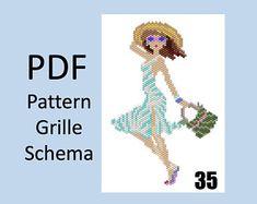 Bead Embroidery Jewelry, Beaded Embroidery, Hand Embroidery, Peyote Stitch, Cross Stitch, Beaded Earrings, Beaded Jewelry, Loom Craft, Peyote Beading