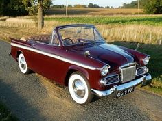 1963 Sunbeam Rapier Convertible Rootes Group For Sale Old Fashioned Cars, Paint Charts, Prestige Car, Classic Cars British, Coach Builders, 1960s Cars, Morris Minor, Vintage Cars, Cool Cars