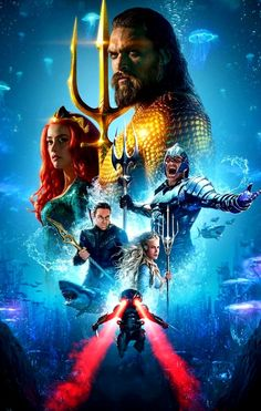 James Wan's Aquaman will swim into theaters in less than 2 weeks time, and star Jason Momoa has now shared the first full clip from the highly-anticipated DC Comics adventure. Check it out after the jump. Dc Comics, Photomontage, Aquaman 2018, Jason Momoa Aquaman, Marvel E Dc, Famous Movies, Hd Movies, 2018 Movies, Streaming Movies