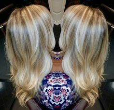 Blonde hair. Ombré. Davines. Flamboyage @ house of cabelo.