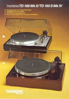 Vintage Deluxe The Effective Pictures We Offer You About Audio room design A quality picture can tel Audio Vintage, Vintage Ads, Vintage Music, Turntable Cd Player, Audiophile Turntable, Platine Vinyle Thorens, High End Turntables, Turntable Cartridge, Audio Room