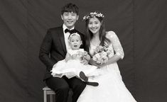 Ki Tae Young And Eugene Celebrate 5th Wedding Anniversary With A Beautiful Family Photoshoot | Soompi