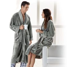 His and Hers robes make for a great gift this Valentine's Day.
