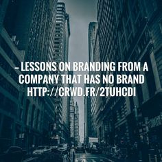 Check out my new post! Lessons On Branding From A Company That Has No Brand http://crwd.fr/2tUhCDI #branding #identity #design :) http://hotsnow.fi/lessons-on-branding-from-a-company-that-has-no-brand-httpcrwd-fr2tuhcdi-branding-identity-design/?utm_campaign=crowdfire&utm_content=crowdfire&utm_medium=social&utm_source=pinterest