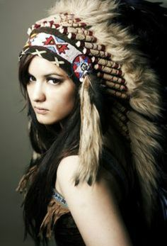 Native American Indian Sioux Headdress Costumes,It's A Beautiful Life :),Photography, American Indian Girl, Native American Beauty, Indian Girls, Red Indian, Native Indian, Apache Indian, Indian Style, Native American Headdress, Native American Indians