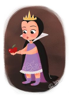 Little Villain Evil Queen by ~Vijolea on deviantART