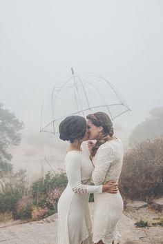 Tucson, Arizona lesbian wedding pictures