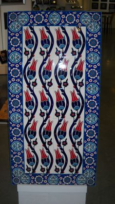 Awesome Colors and an Authentic Turkish pattern