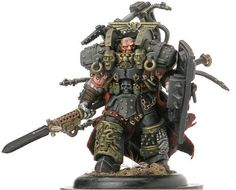 Ferrus Manus- Primarch of the Iron Hands