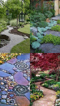 A Whole Bunch Of Beautiful & Enchanting Garden Paths - Style Estate - #garden #path