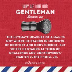 Why we love our gentlemen. Let us count the ways. #gentlemen #dad #love #quote