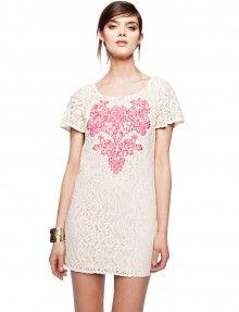 Beachy lace dress