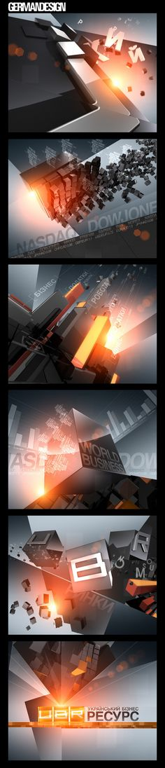 UBR Channel ID's 2010 on Behance