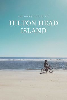 It's no secret that Hilton Head Island is a biker's paradise. From bike rentals to hidden trails, get our guide to exploring Hilton Head Island on two wheels.