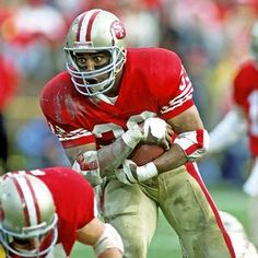 Roger Craig - Former San Francisco 49er RB.... Can't wait to see the pic of him and my hubby at the Warriors game!!!